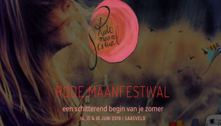 Rode Maanfestival 2019 Met Als Thema Wind In Het Twentse Saasveld